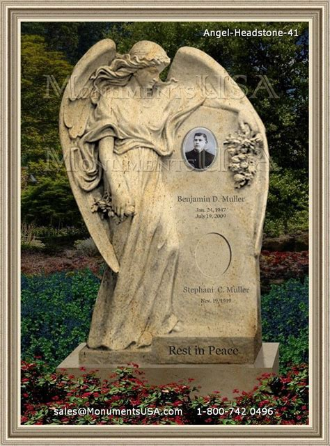 angel cemetery monuments cemeteries pinterest