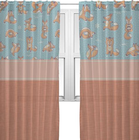 yoga curtains foxy yoga sheer curtains personalized youcustomizeit