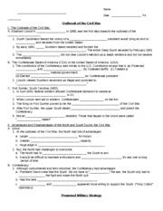 America The Story Of Us Civil War Worksheet by America The Story Of Us Worksheet Lesupercoin Printables