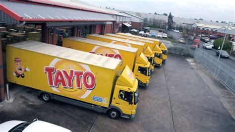 tayto car tayto crispy savings with tomtom telematics