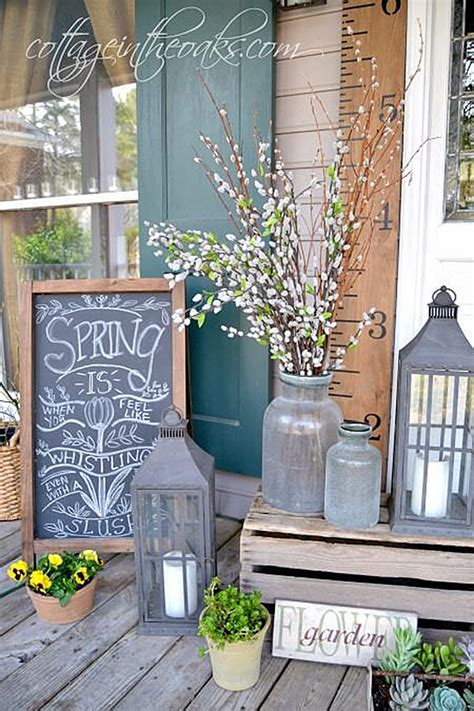 spring porch decorating ideas 32 best spring porch decor ideas and designs for 2017