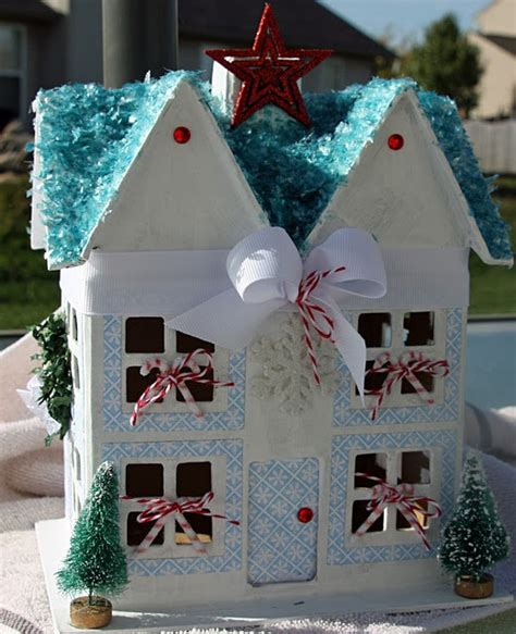 How To Make Paper Mache Houses - 17 best images about paper mache houses on