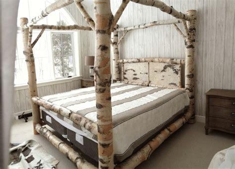 Holz Deko Für Hochzeit by Bett Waldkante