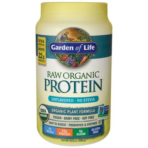 Garden Of Products by Garden Of Organic Protein Unflavored 20 Oz 568