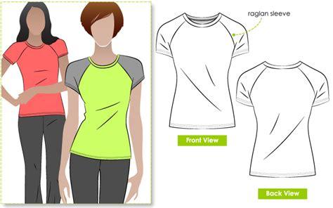 t shirt raglan paytren stylearc riva raglan t shirt sewing pattern