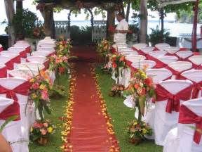 Outside Decorations by Outdoor Wedding Decoration Ideas 5 8020 The Wondrous