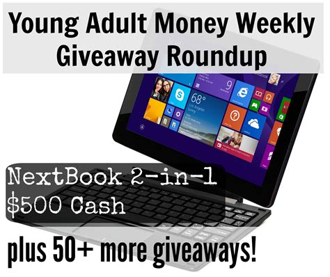 Free Money Sweepstakes - giveaway young adult money