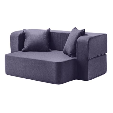 Poppy Sofa Bed Versatile Foam Easy Flip 2 Seater Apartment Flip Sofa Bed