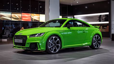 better tt lime green audi tt rs looks much better than expected