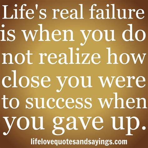 Failure Quotes Not Failing Quotes Quotesgram