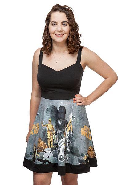 star pattern clothes star wars vintage pattern dress exclusive thinkgeek