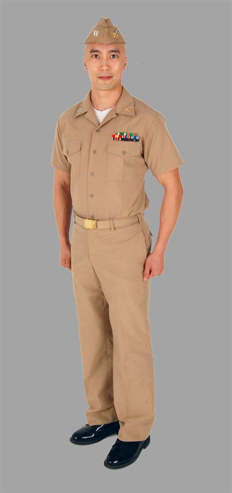 us navy dress khaki uniform service khaki