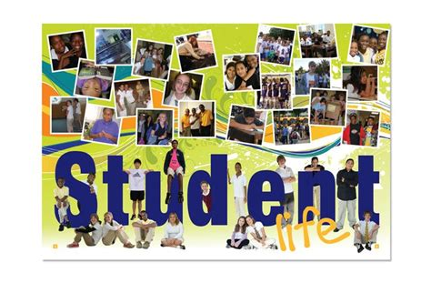 teaching yearbook layout design amy i like how it has pictures of students on the word