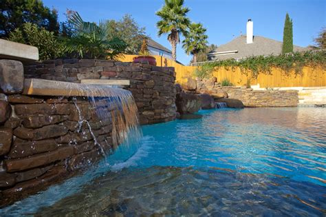 Texas Custom Patios Water Features And Fountains Spindler Construction