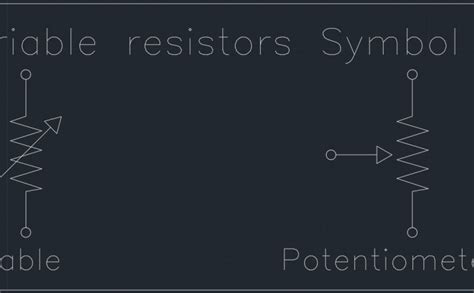 cad symbol for resistor variable resistors symbol free cad 28 images variable resistors symbol free cad block and