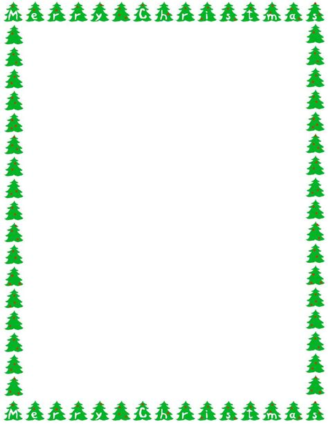 printable letters with borders free printable christmas borders for letters halloween