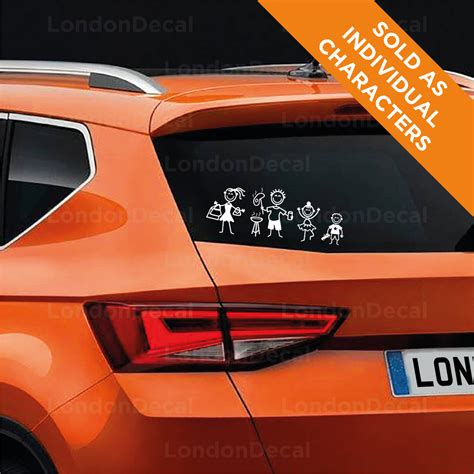Family Stickers For Car Windows
