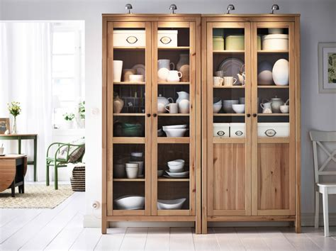 Living Room Storage Cabinet Display Your Treasures In Traditional Solid Pine