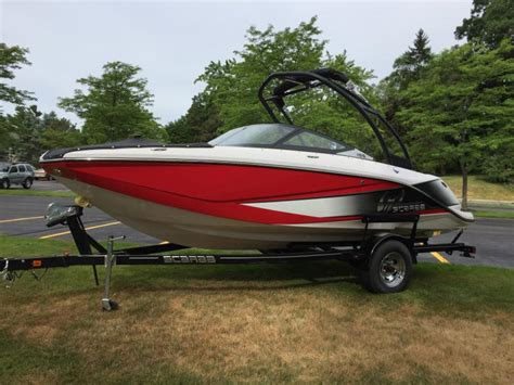 scarab jet boats michigan scarab 195 ho boats for sale in howell michigan
