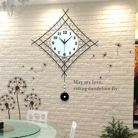 pendulum swing in fashion creative modern decoration pendulum clock the sitting room