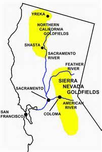 gold map california california gold newhairstylesformen2014