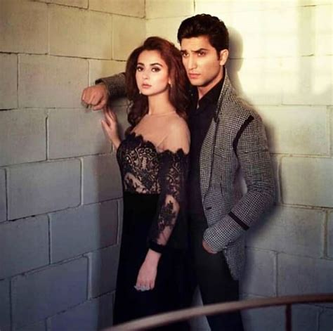 Hania Set hania amir and ahad raza mir on set of their upcoming photoshoot for ok pakistan magazine