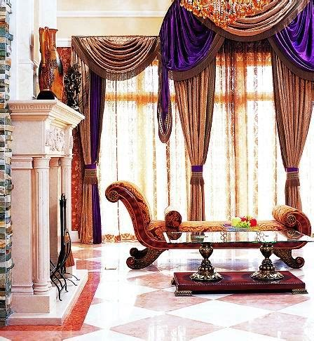 Fancy Curtains For Living Room by Luxury Home Interior Designs Home Decoration Collection