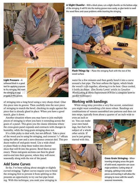 String Techniques - stringing techniques woodarchivist