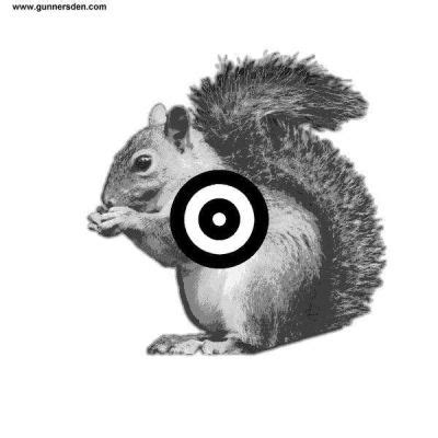 printable shooting targets squirrel rifles free targets precision squirrel target printable