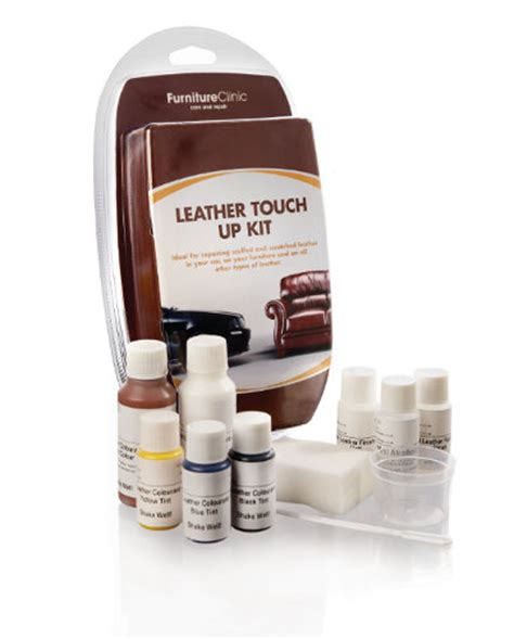 Leather Repair Touch Up Kit Ideal For Small Leather Repairs Leather Repair Kits For Sofa
