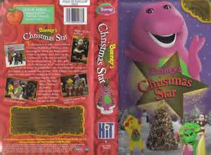 Vhs barney s christmas star animated ebay