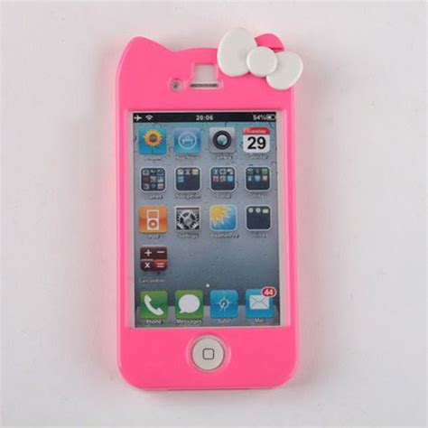 Hardcase Iphone 4 Helokity phone cover iphone 4 hello iphone