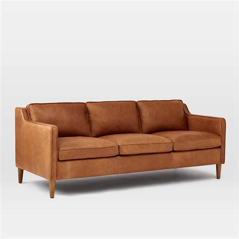 leather sofa makers modern furniture home decor home accessories west elm
