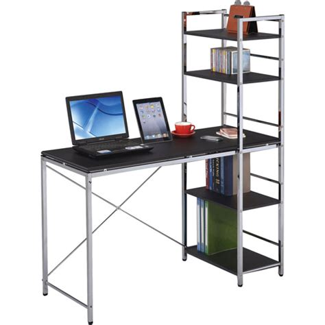Elvis Student Computer Desk Black And Chrome Walmart Com Student Desk Walmart
