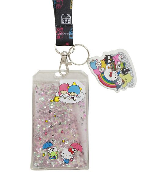 7 Accessories By Loungefly by Loungefly Hello Sanrio Liquid Lanyard Topic
