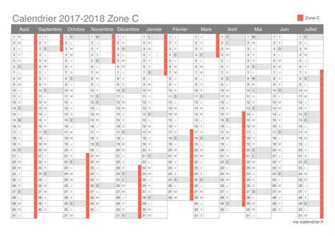 Zone Des Vacances Scolaires 2017 Vacances Scolaires 2017 2018 Zone C Calendrier Et Dates