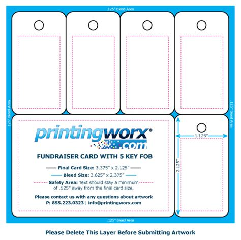 card template class fundraising fundraising card templates by printingworx
