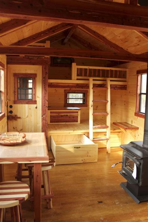 Trophy Cabins by Trophy Amish Cabins Home Cabin Interior Escape