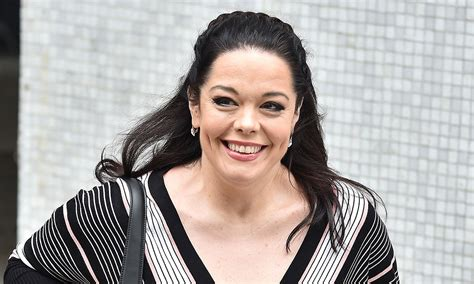 lisa riley pays  rare tribute  partner al  special