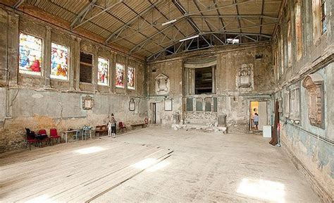 amazing abandoned buildings  london