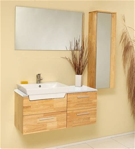 modern wood bathroom vanity caro 35 inch natural wood modern bathroom vanity with