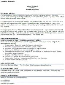 Curriculum Vitae Nurse Practitioner Student by Teaching Assistant Cv Example Icover Org Uk