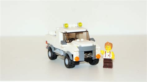 Lego Truck Can Change Car lego ideas lego city white truck