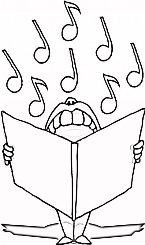 coloring pages free music free printable music note coloring pages for kids
