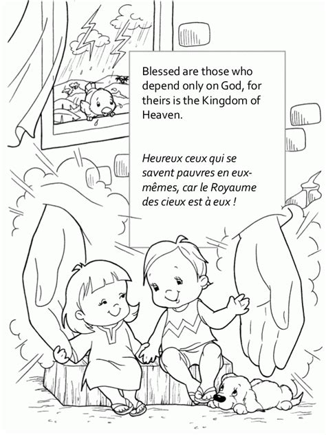 beatitudes coloring pages az coloring pages