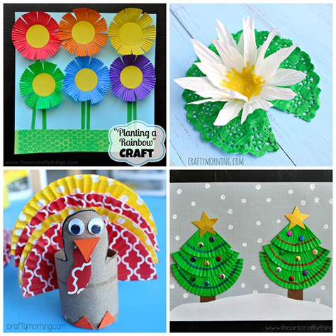 craft to make creative cupcake liner crafts for to make crafty