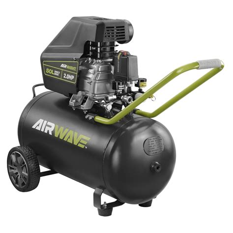 ryobi 50l 2 0hp airwave air compressor and air tool kit bunnings warehouse