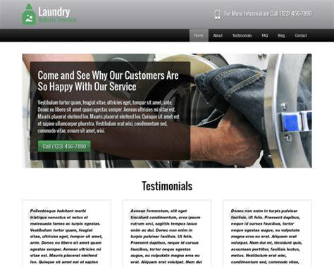 laundry website template laundromat themes nexusthemes the 1
