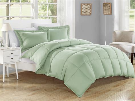 alternative down comforter king sage down alternative comforter set king