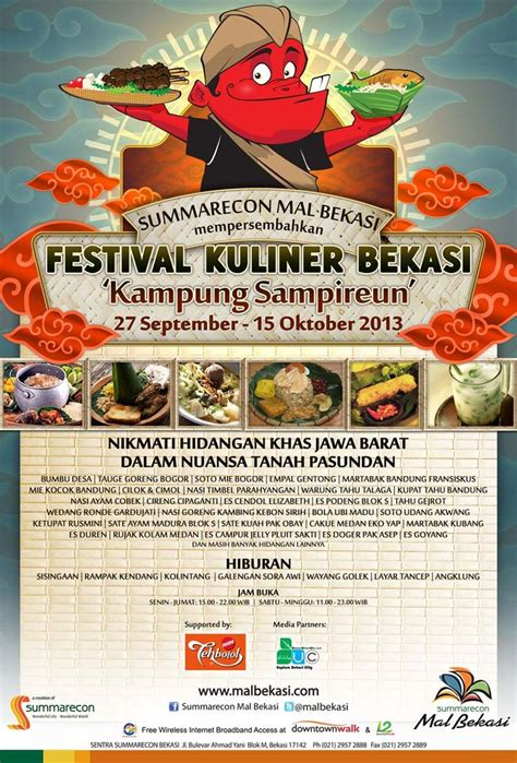 Kursus Wedding Organizer Jakarta by Festival Kuliner Bekasi Fkb Quot Kung Sireun Quot 27